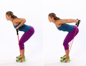 Triceps-Press-Resistance-Band